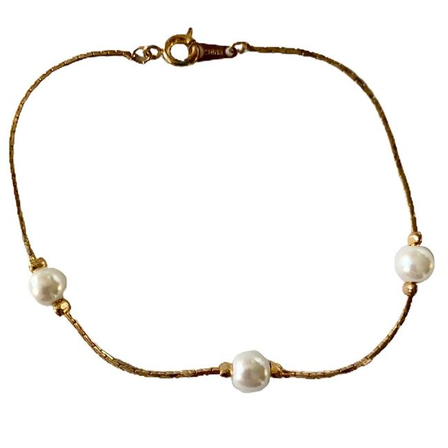 White and Gold 1263 Bracelet White and Gold 1263 Bracelet Image 1
