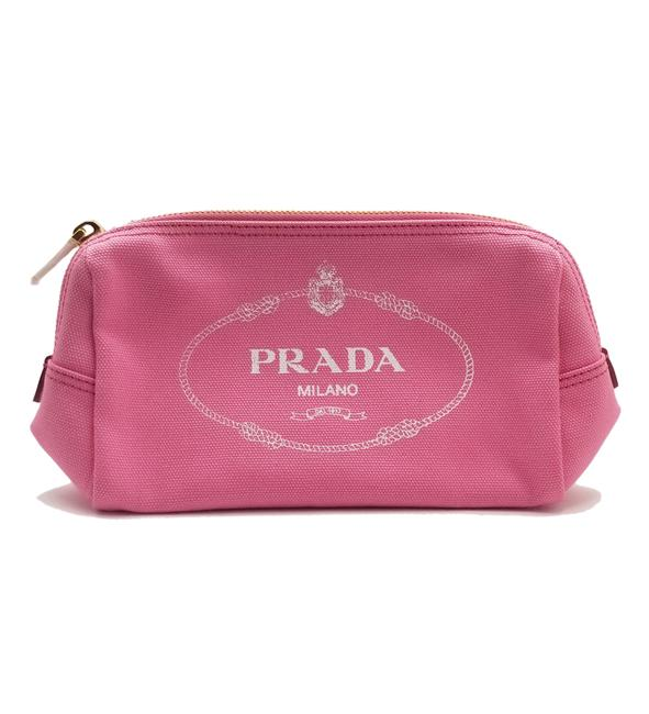 Item - Canapa Cosmetic Pouch With Zipper Pink Canvas Weekend/Travel Bag