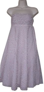 J.Crew short dress white polka dot on Tradesy