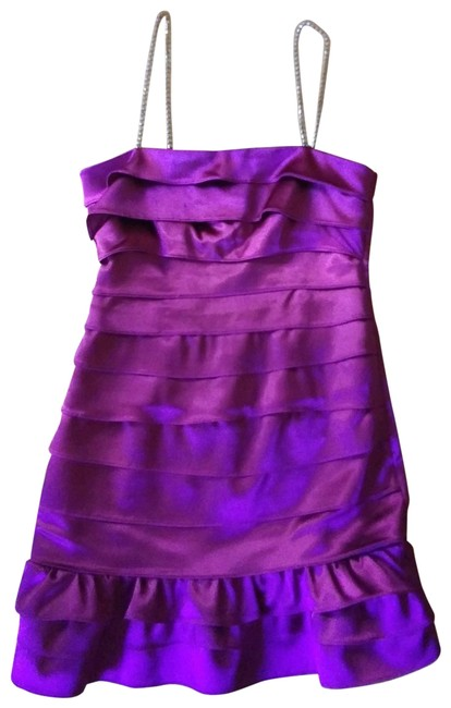 Item - Magenta Short Night Out Dress Size 4 (S)