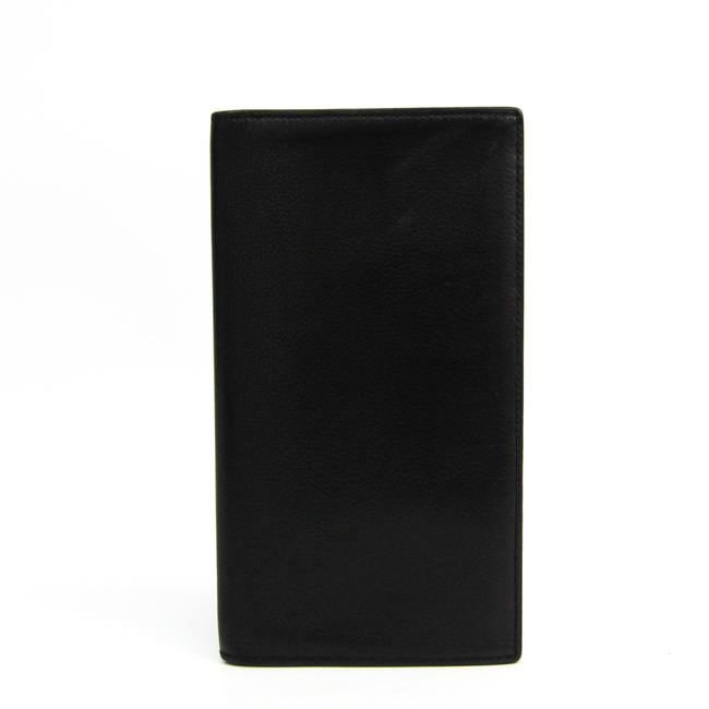 Item - Black Mc2 Fleming Unisex Leather Long Bill (Bi-fold) Wallet