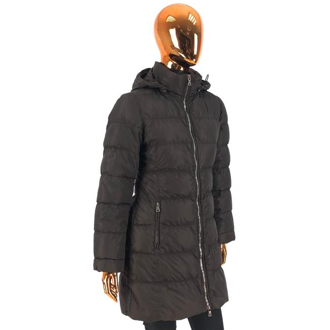 Item - Brown W Womens Polyester Puffer / Down Jacket / Logo Coat Size 6 (S)