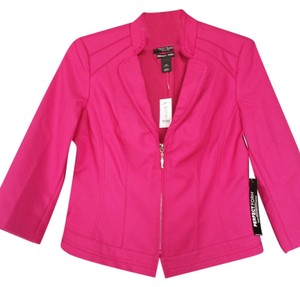 White House Black Market Fuschia Jacket