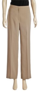 Tahari Super Flare Pants Tan