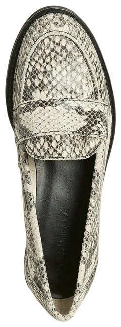 White/Gray Snakeskin Effect Leather Penny Loafers Italy Flats Size EU 38 (Approx. US 8) Regular (M, B) White/Gray Snakeskin Effect Leather Penny Loafers Italy Flats Size EU 38 (Approx. US 8) Regular (M, B) Image 1