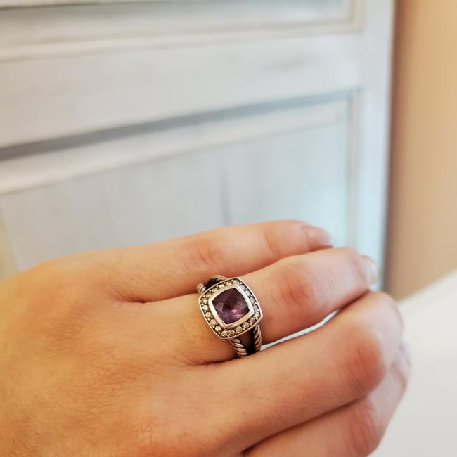 Item - Amethyst and Sterling Silver Petite Albion Ring