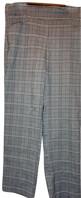 Item - Black Grey White Plaid Pants Size 16 (XL, Plus 0x)