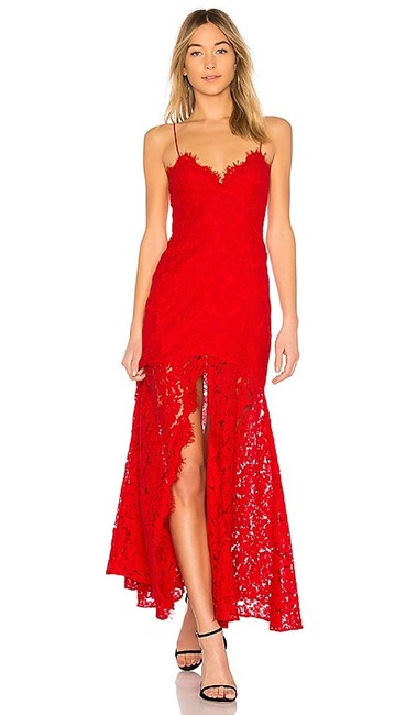 Item - Red The Babe In Cherry Long Formal Dress Size 0 (XS)