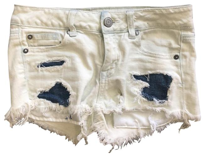 American Eagle Outfitters Stretch Distressed Shorts Size 0 (XS, 25) American Eagle Outfitters Stretch Distressed Shorts Size 0 (XS, 25) Image 1