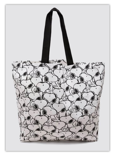 Item - Bag Snoopy ®peanuts Print White Cotton Tote