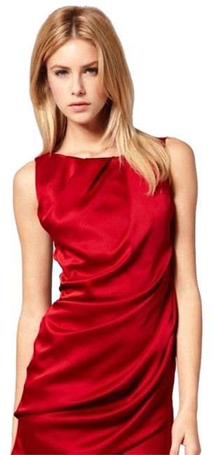 Item - Red Dl039 Cocktail Dress Size 4 (S)