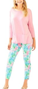 Lilly Pulitzer Boatneck Comfy Athleisure Sweater