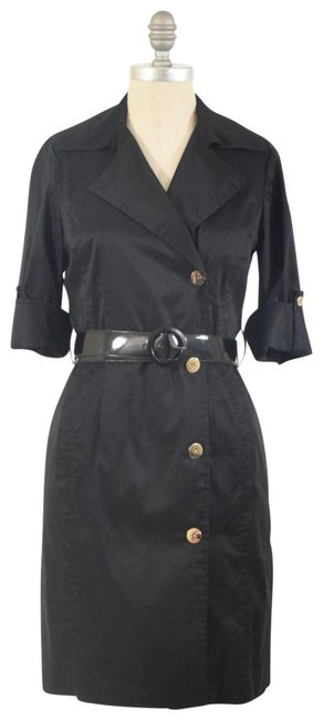 Item - Black Belted Short Work/Office Dress Size 2 (XS)