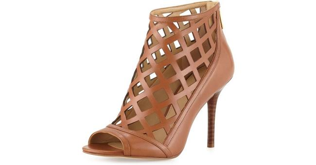Item - Brown New Nwob Yvonne Leather Cage Heels Booties Sandals Size US 9.5 Regular (M, B)