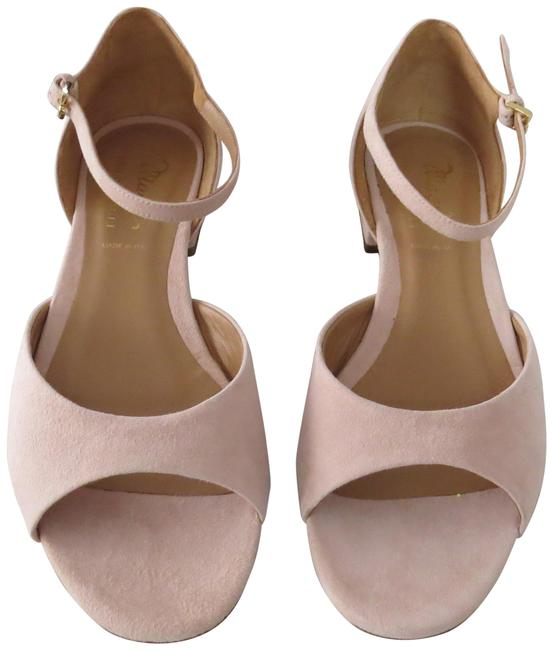 Item - Pink Suede Ankle Strap Sandals Size EU 39 (Approx. US 9) Regular (M, B)