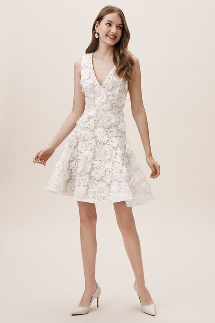 Item - Ivory Nude Lace Melbourne Casual Wedding Dress Size 8 (M)
