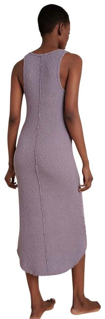 Item - Lavender Lia Ribbed For Long Casual Maxi Dress Size 14 (L)