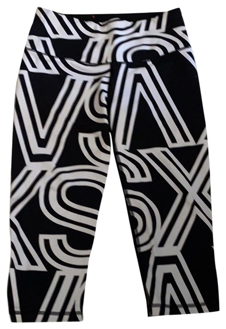 Item - Black and White Vsx Activewear Bottoms Size 6 (S)