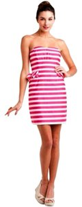 Lilly Pulitzer short dress Pink and White on Tradesy