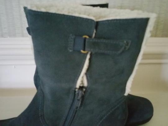 Clarks Blue Boots