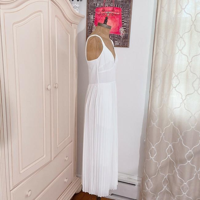 Vince White New V Neck Sleeveless Pleated Crop Wide Leg Jumpsuit Casual Bridesmaid/Mob Dress Size 2 (XS) Vince White New V Neck Sleeveless Pleated Crop Wide Leg Jumpsuit Casual Bridesmaid/Mob Dress Size 2 (XS) Image 5