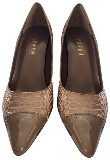 Item - Tan High Heels Pumps Size US 6 Regular (M, B)