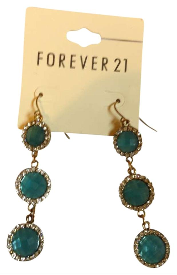 Forever 21 dusty blue earrings forever 21 jewelry tradesy for Forever 21 jewelry earrings