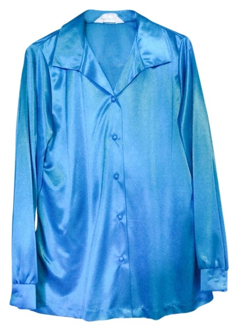Preload https://item5.tradesy.com/images/blair-turquoise-button-down-top-size-12-l-2777119-0-0.jpg?width=400&height=650