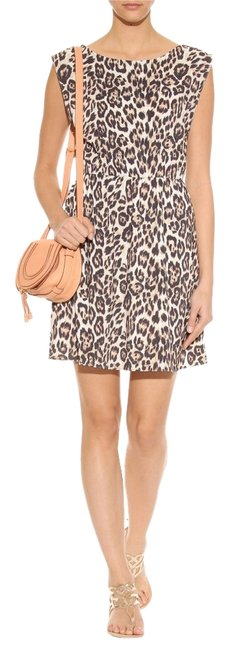 Preload https://item3.tradesy.com/images/alice-olivia-animal-shellie-blouson-bnwt-brown-above-knee-workoffice-dress-size-4-s-2777122-0-0.jpg?width=400&height=650