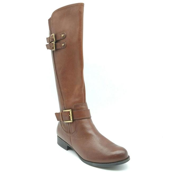 Item - Brown Womens Jessie Knee High Fashion Boots/Booties Size US 7.5 Wide (C, D)