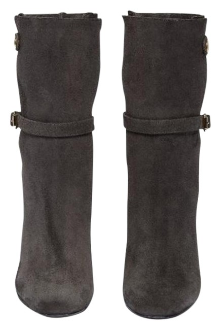 Item - Asphalt Grey Jodhupur Suede Boots/Booties Size EU 38 (Approx. US 8) Regular (M, B)