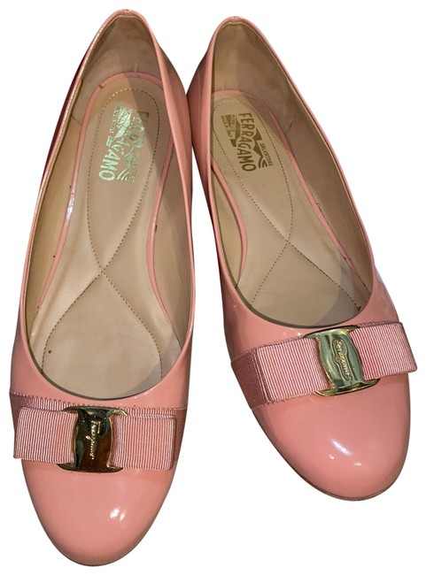 Item - Blush Coral Vagina Patent Flats Size US 11 Regular (M, B)