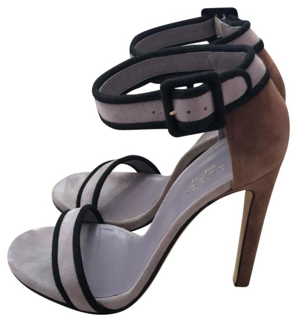 Item - Gray Lavender/Reddish Brown/Black Platforms Size US 6.5 Regular (M, B)