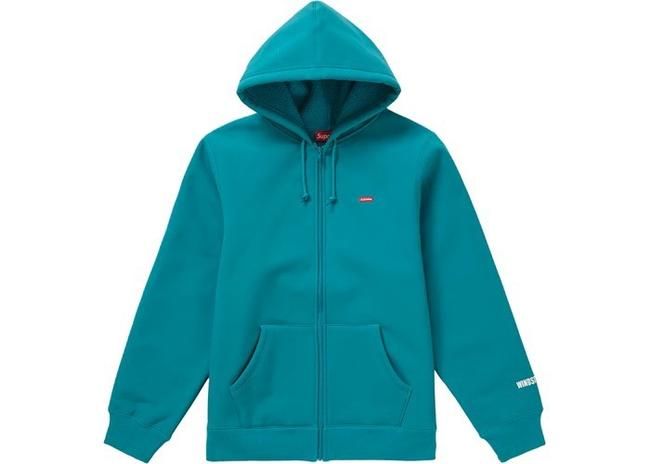 Item - Teal L Windstopper Gore -tex Zip Up Hooded Sweater/Jacket Activewear Size 12 (L)