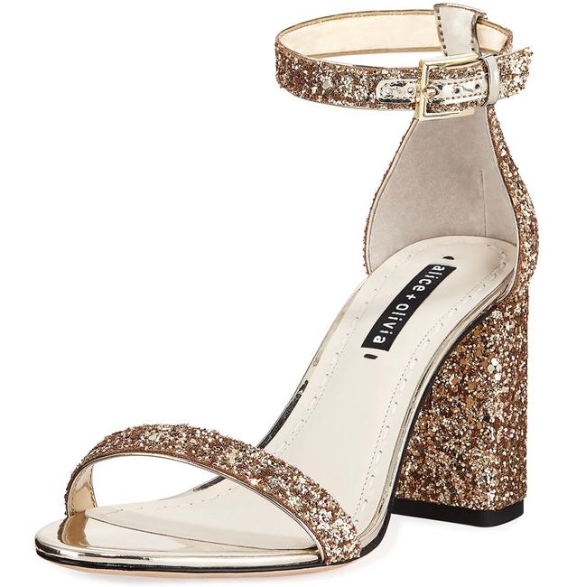 Item - Gold Lillian Sandals Size US 7 Regular (M, B)
