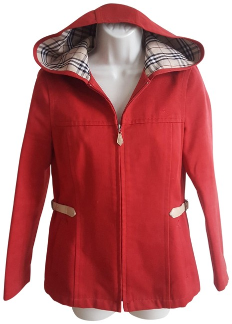 Item - Red Long Sleeve Jacket Size 4 (S)