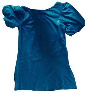Splendid short dress Teal blue on Tradesy