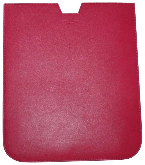 Item - Pink Sleeve Case Pouch Leather Ipad Case Tech Accessory