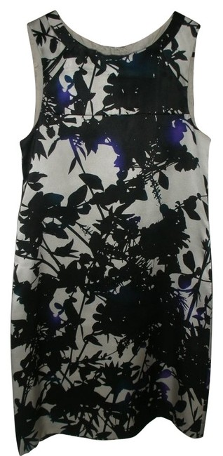 Preload https://item1.tradesy.com/images/theory-black-silver-purple-silk-sleeveless-above-knee-workoffice-dress-size-0-xs-27775-0-0.jpg?width=400&height=650