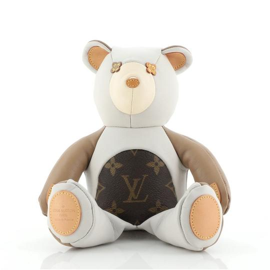 Preload https://img-static.tradesy.com/item/27775629/louis-vuitton-neutral-dou-dou-teddy-bear-leather-with-monogram-canvas-0-0-540-540.jpg