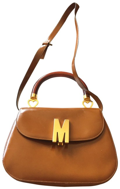 Item - Camel Leather Satchel