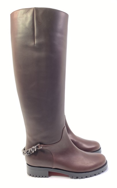 Item - Brown Croche Cate 20 Calf Leather Chain Riding Boots/Booties Size EU 36.5 (Approx. US 6.5) Regular (M, B)