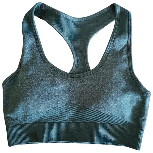 Item - Green Dark Forest Racerback with Removable Pad Activewear Sports Bra Size 12 (L, 32, 33)