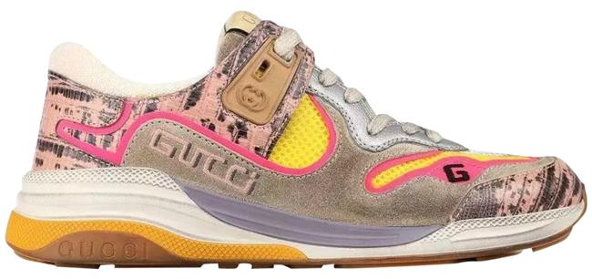 Item - New Ladies Current Ultrapace Multi Color Leather Logo 38/8 Sneakers Size US 8 Regular (M, B)