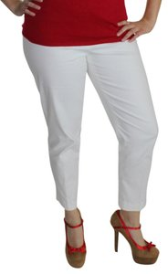 JONES NEW YORK Straight Pants White
