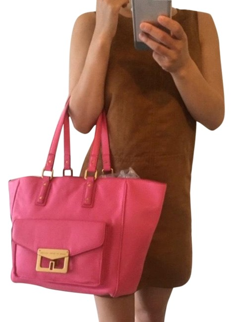 Item - Pink Leather Tote