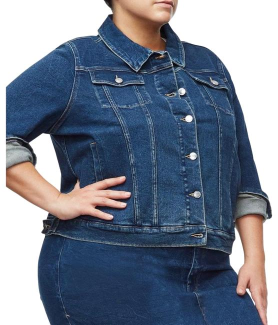 Item - Blue 251 Fitted Jacket Size 18 (XL, Plus 0x)