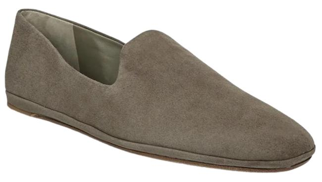 Item - Gray Paz Venetian Suede Slip-on Loafer Flats Size US 9.5 Regular (M, B)