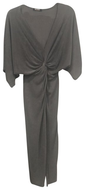 Item - Blueish Gray And So Comfy Mid-length Cocktail Dress Size 4 (S)