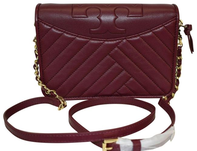 Item - Alexa Combo Imperial Garnet Quilted Red Leather Cross Body Bag